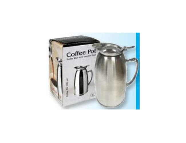Winco Satin Finished Stainless Steel Lined Coffee Pot, 20 Ounce -- 1 each.