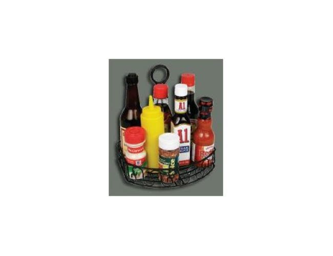 Winco Straight Back Wire Condiment Caddy, 8 1/4 x 6 1/4 x 9 inch -- 1 each.