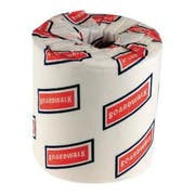 Boardwalk White 2 Ply Toilet Tissue, 4.5 x 3 inch - 500 sheets per roll -- 96 rolls per case.