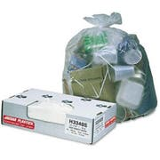 Jaguar Plastics Natural High Density Can Liner, 33 x 40 inch - 200 per box -- 1 each.