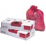Jaguar Plastics Red Infecious Waste Liner, 40 x 46 inch - 100 per box -- 1 each.