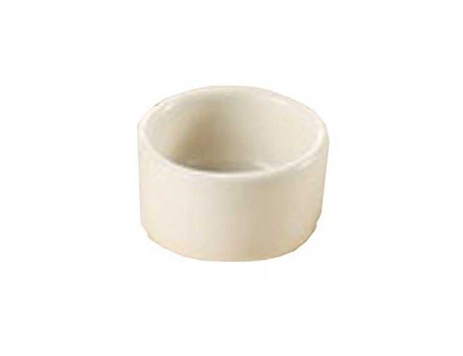 Yanco Porcelain American White Round Accessories Pipkin/Ramekin, 2 Ounce -- 36 per case.