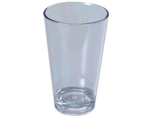 Yanco SM-20-MX Stemware Mixing Cup, High Quality, Durable, 20 Ounce Capacity, Plastic, Clear -- 24 per case.