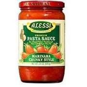 Alessi Chuncky Marinara Pasta Sauce, 24 Ounce -- 6 per case.