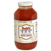 Golds Horseradish Cantonese Sweet and Sour Duck Sauce, 40 Ounce -- 12 per case.