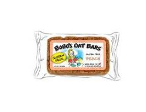 Bobos Peach Oat Bar, 3 Ounce -- 12 per case.