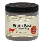 Orrington Farms Beef Soup Broth Base, 12 Ounce -- 6 per case.