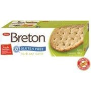 Breton Gluten Free Herb and Garlic Cracker, 4.76 Ounce -- 6 per case.