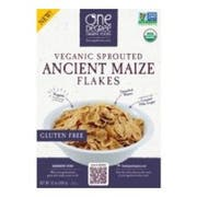 One Degree Organic Foods Sprouted Ancient Maize Flakes, 12 Ounce -- 6 per case