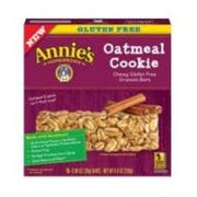 Annies Homegrown Gluten Free Oatmeal Cookie Granola Bar, 4.9 Ounce -- 12 per case