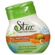 Stur Only Orange Mango Liquid Water Enhancer, 1.4 Fluid Ounce -- 6 per case.