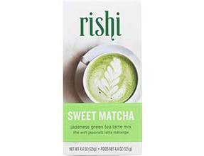 Rishi Sweet Matcha Japanese Green Tea Latte Mix, 4.4 Ounce -- 6 per case.