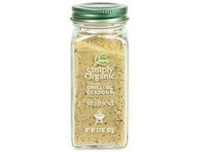 Simply Organic Seafood Grilling Seasoning, 2.2 Ounce -- 6 per case.