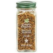 Simply Organic Steak Grilling Seasoning, 2.3 Ounce -- 6 per case.