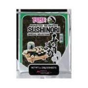 Hime Tempura Batter Roasted Seaweed Sushinori Wrap, 1 Ounce - 10 per pack -- 12 packs per case.