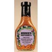 Annies Dress Organic Sesame Ginger with Chamomile Vinaigrette, 8 Ounce -- 6 per case