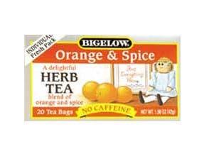 Orange & Spice Herb Tea - 20 bags -- 6 per case.