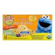 Earths Best Sesame Street Organic Homestyle Mini Waffle, 9 Ounce -- 12 per case.