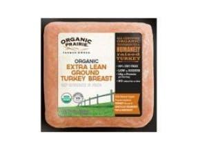 Organic Prairie Extra Lean Ground Turkey Breast, 12 Ounce -- 8 per case