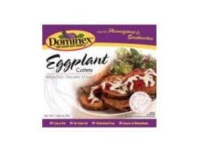 Dominex Eggplant Cutlet, 16 Ounce -- 6 per case.