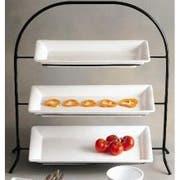Bon Chef Sandstone Wire Display Stand, 28 1/2 x 10 1/4 x 29 1/2 inch -- 1 each.