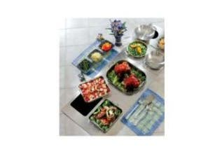 Bon Chef Stainless Steel Custom Cut Tile with Two Cutout for Number 60002 and 60005 Pan, 13 1/8 x 21 1/2 inch -- 1 each.
