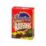 Raisin Select Seedless 24 Case 6/1.5 Ounce