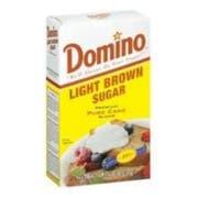 Domino Light Brown Sugar, 1 Pound -- 24 per case.