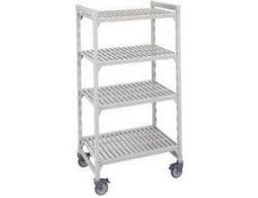 Cambro Camshelving Standard Mobile Starter Units, 24 x 67 x 42 inch -- 1 each.