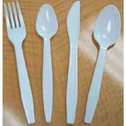 Goldmax Platinum Series White Polystyrene Extra Heavy Weight Soup Spoon, 13.75 x 8.75 x 10.50 inch -- 10 per case.