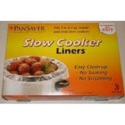 M and Q Packaging Corp PanSaver EZ Clean Master Slow Cooker Liner, 12 x 7 x 9 inch - 4 per pack -- 18 packs per case.