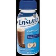 Ensure Creamy Milk Chocolate Nutrition Shake, 8 Fluid Ounce -- 24 per case.