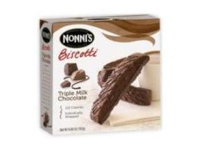 Nonnis Triple Milk Chocolate without Nut, 6.88 Ounce - 8 per pack -- 12 packs per case.