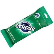 Eclipse Spearmint Sugarfree Gum - 3 per pack -- 10 packs per case.