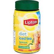 Lipton Diet Decaffeinated Lemon Iced Tea Mix, 3 Ounce -- 4 per case