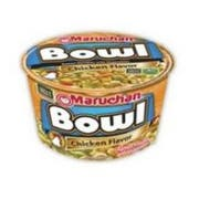 Maruchan Hot and Spicy Chicken Noodle Bowl, 3.32 Ounce -- 6 per case.
