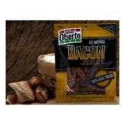 Oberto All Natural Bacon Jerky, 2.5 Ounce -- 8 per case.