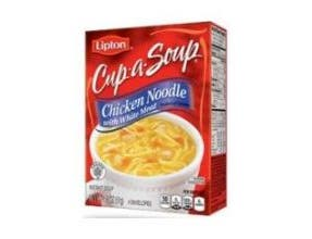 Lipton Savoury Cup A Soup Chicken Noodle with White Meat, 51 Gram -- 12 per case.