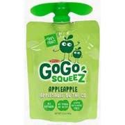 GoGo SqueeZ Apple Apple On the Go Apple Sauce, 3.2 Ounce -- 48 per case.