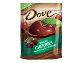 Dove Silky Smooth Dark Chocolate with Whole Cherries, 6 Ounce -- 8 per case.