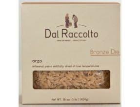 Dal Raccolto Italian Artisanal Bronze Die Orzo Pasta, 1 Pound -- 12 per case.