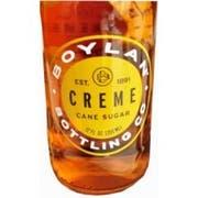 Boylan Bottling Natural Creme Soda, 12 Fluid Ounce -- 24 per case.