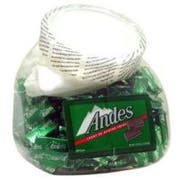 Andes Creme De Menthe Thins - 240 count tub, 6 per case