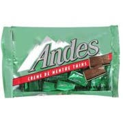 Andes Creme De Menthe Thins - 120 count box, 12 per case