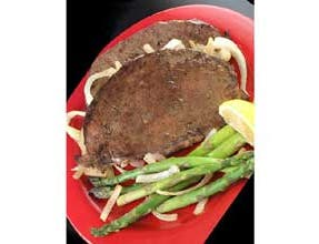 Double Red Provisions Sliced Beef Liver, 4 Ounce -- 40 per case.