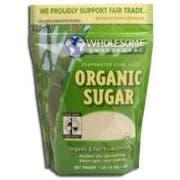 Wholesome Sweeteners Fair Trade Organic Sugar, 2 Pound -- 12 per case