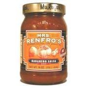 Mrs.RenfroF Habanero Salsa, 16 Ounce -- 6 per case.