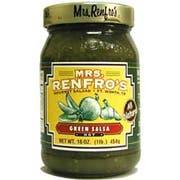 Mrs. Renfro Salsa Green - 16 ounce  -- 6 per case.