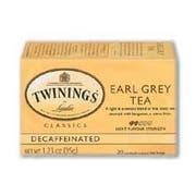 Twin Tea Decaf Earl Grey, 20 Ct -- 6 Per Case.