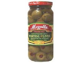Martini Olives - 10 ounce  -- 6 per case.